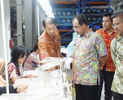 Peninjauan Lokasi PT. Samick Indonesia23 Mar 2018